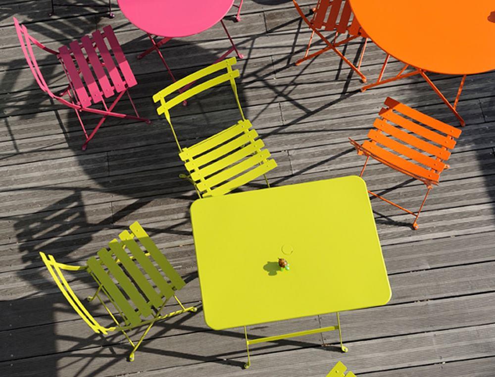 Bistro outdoor table round Fermob