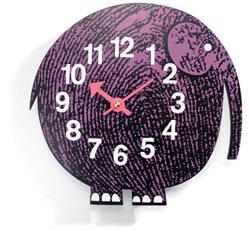 Elihu the Elephant Zoo Timers Wall Clock Vitra