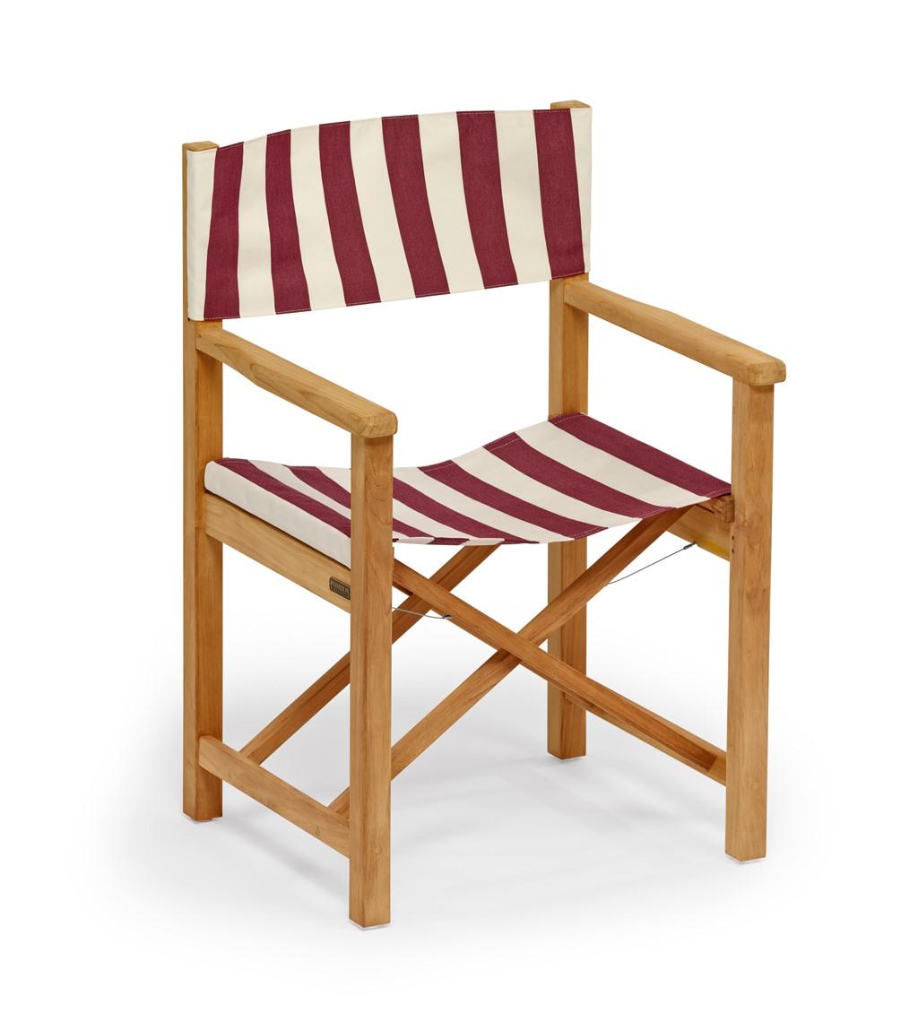 Cabin Outdoor chair Weishäupl Cherry red