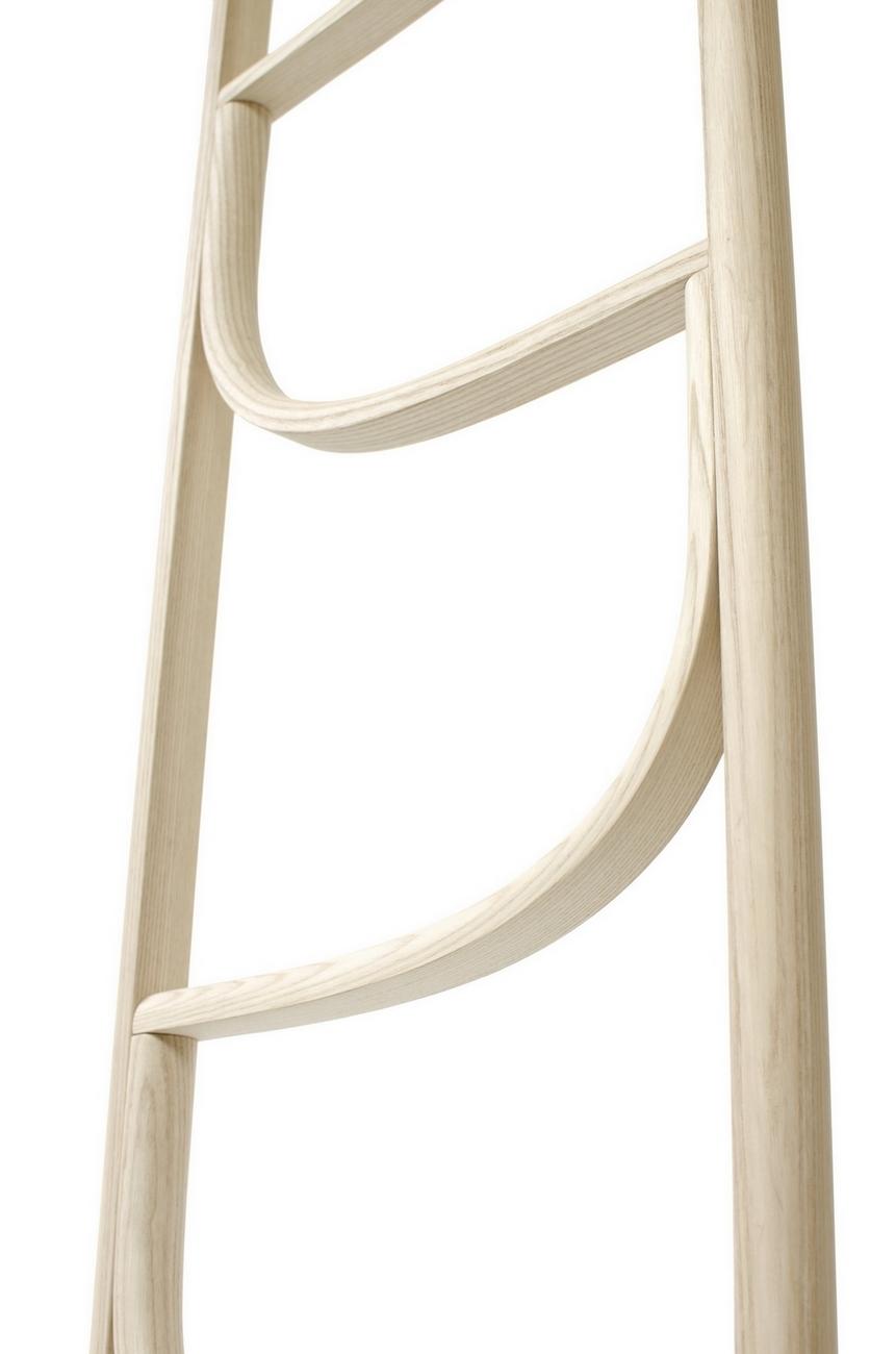 Ladder Kleiderleiter Wiener GTV Design-Hell gebeizt