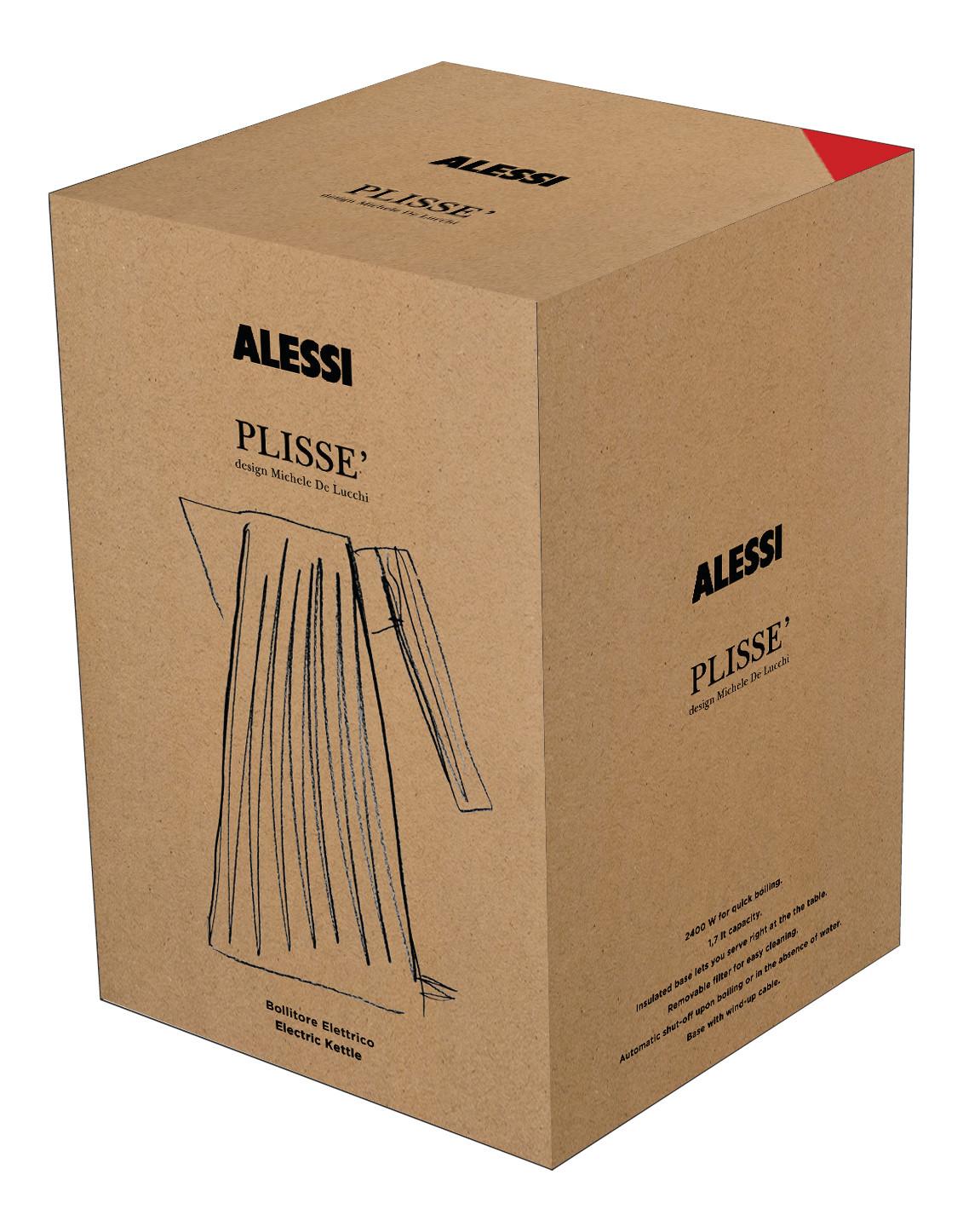 Plissé Water Boiler Alessi
