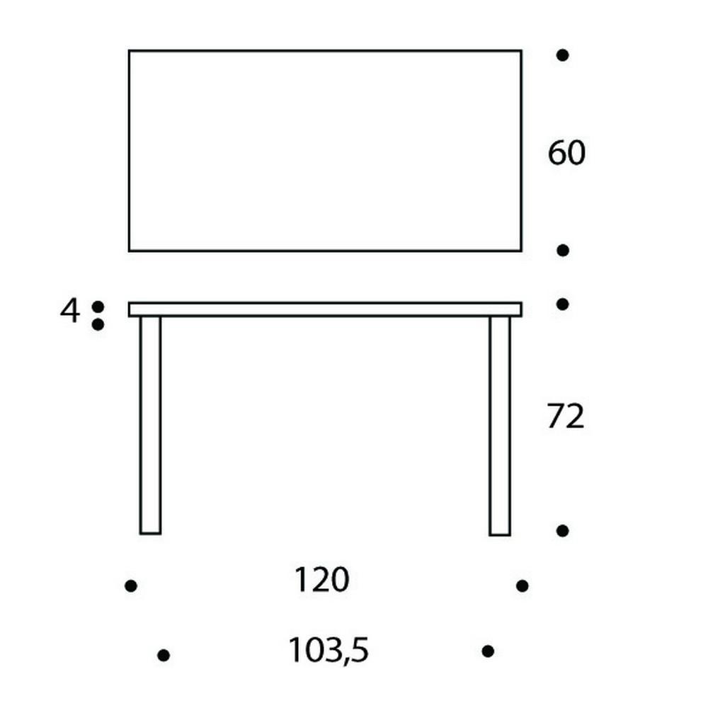 80A table Artek
