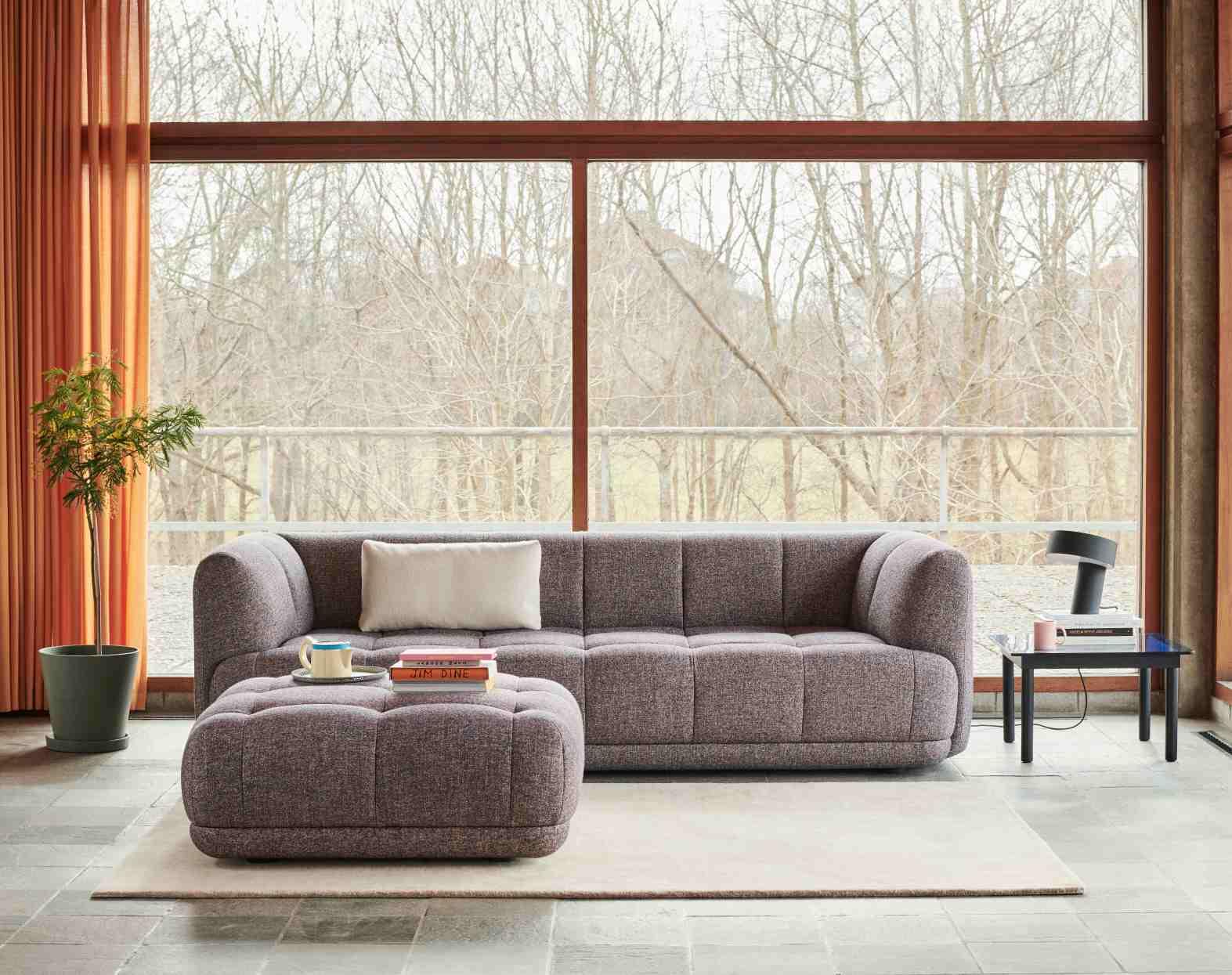 Quilton 3-Seater Sofa Hay