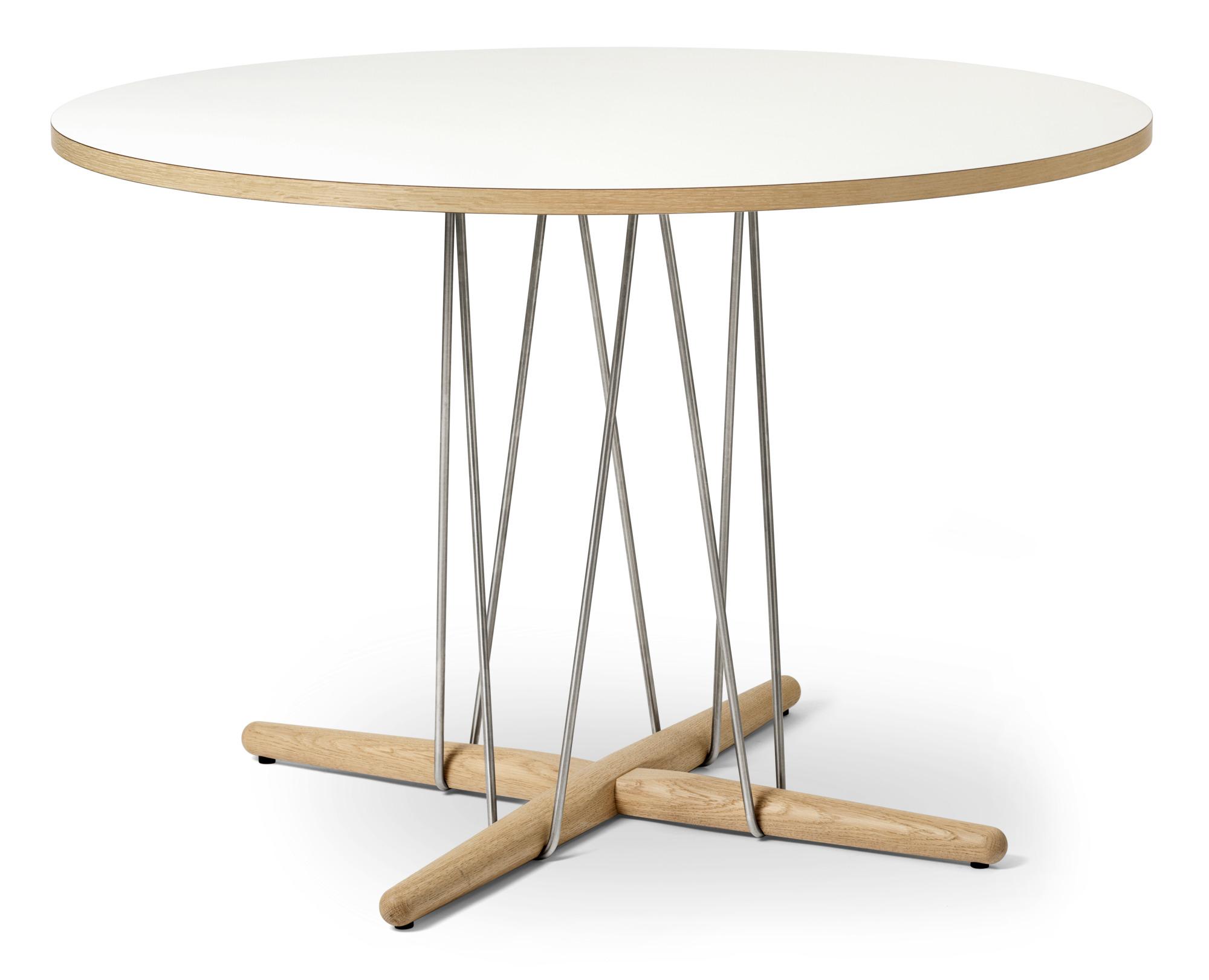 Embrace Table Side table Oak Soap Ø79,50 Carl Hansen & Søn