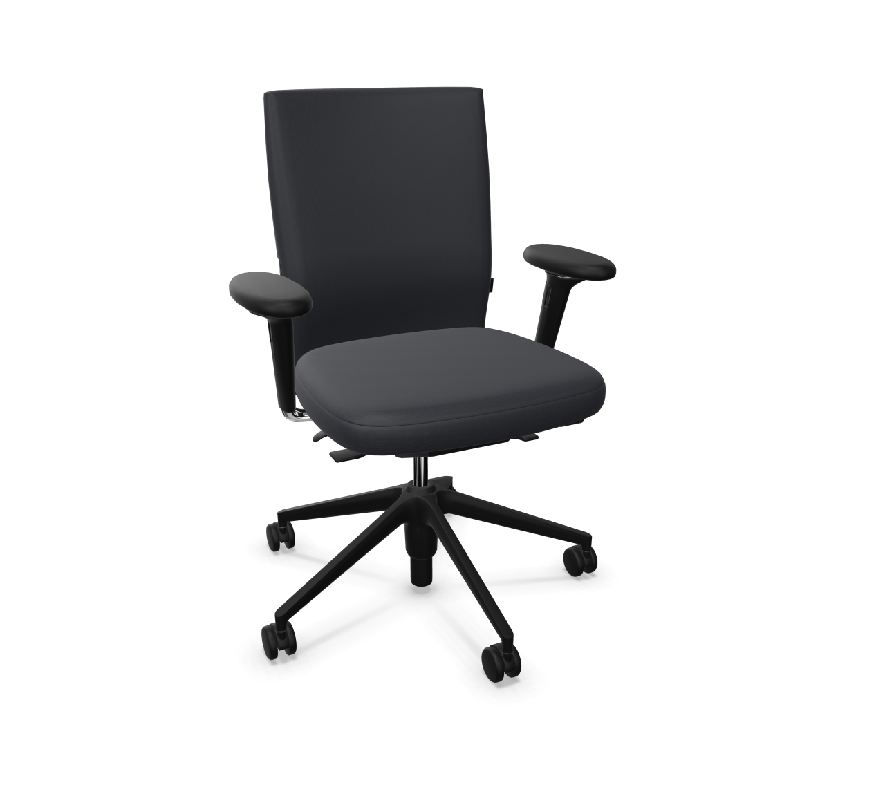 ID Chair - ID Soft - Black Special Edition - Swivel chair Vitra