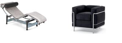 Bauhaus style seating
