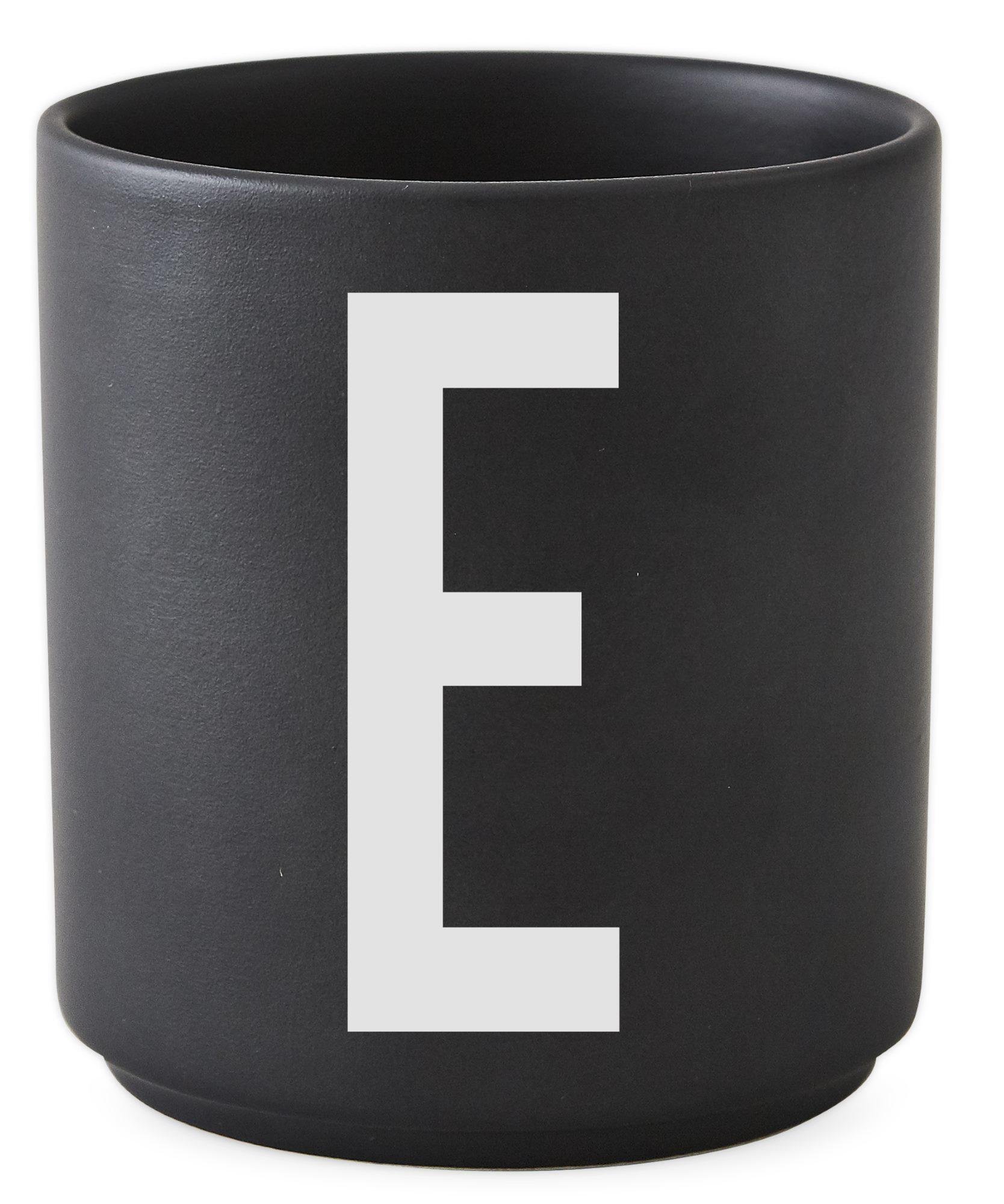 Cup black Design Letters