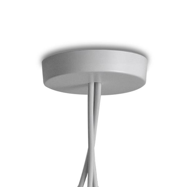 Multiple Canopy for Aim Pendant light Flos White
