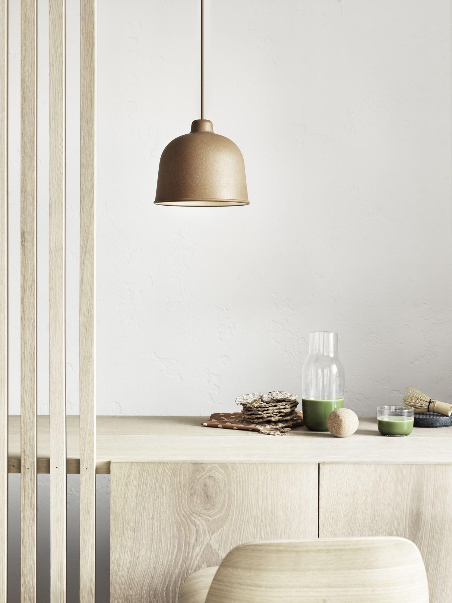 Grain Pendant Lamp Muuto Grey
