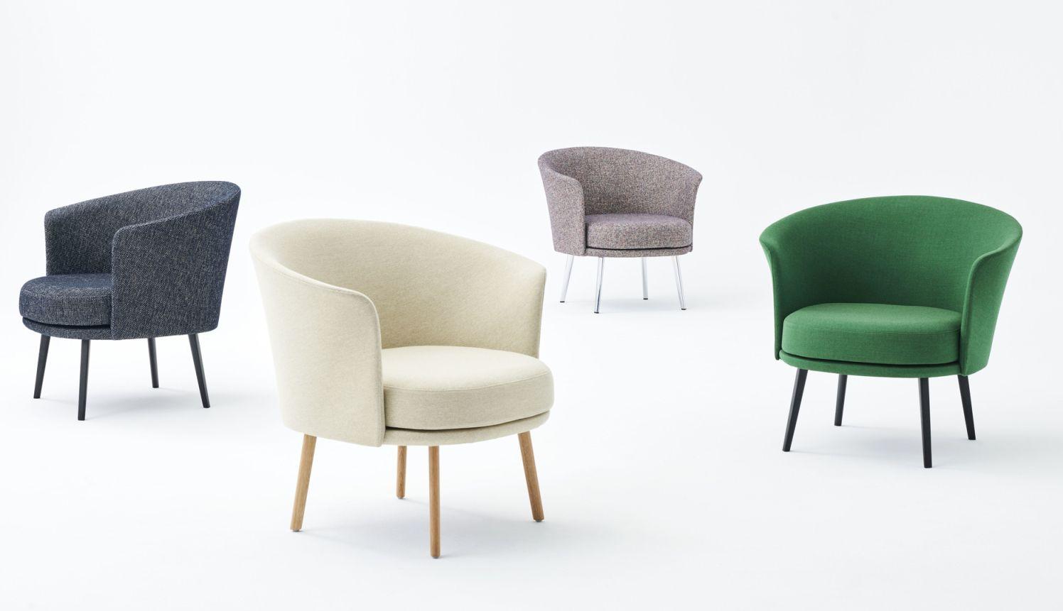 Dorso Lounge Chair Hay