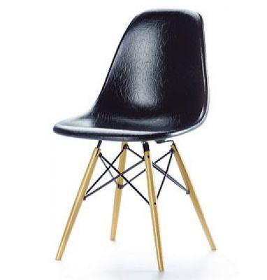 DSW schwarz [1950] Miniatur Chair Vitra