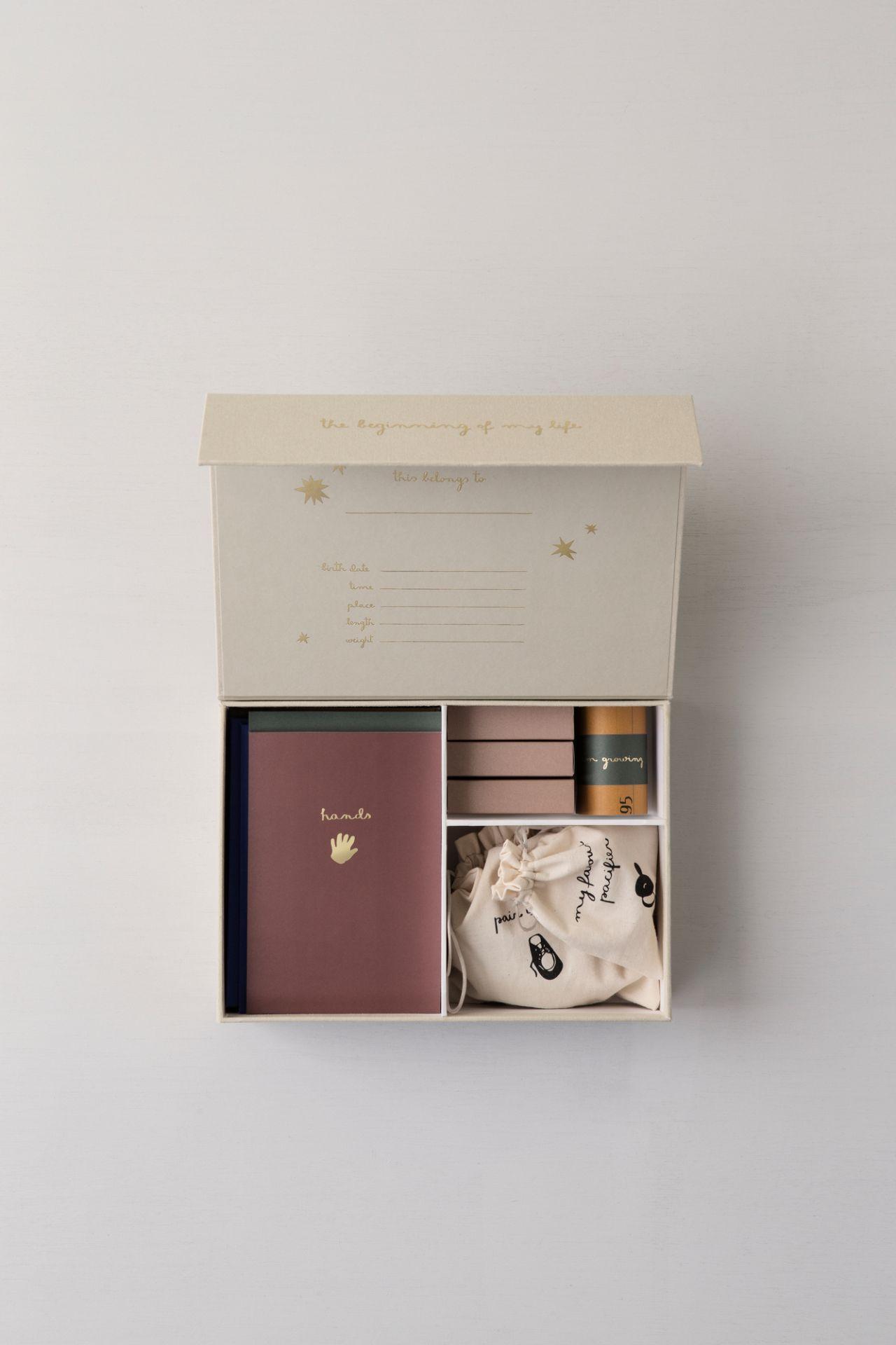 """The Beginning of my life"" memory box Ferm Living"