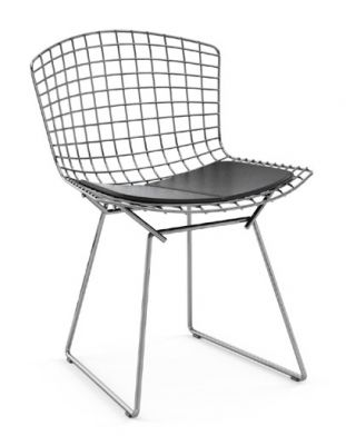 Bertoia Stuhl OUTDOOR Knoll International-Schwarz