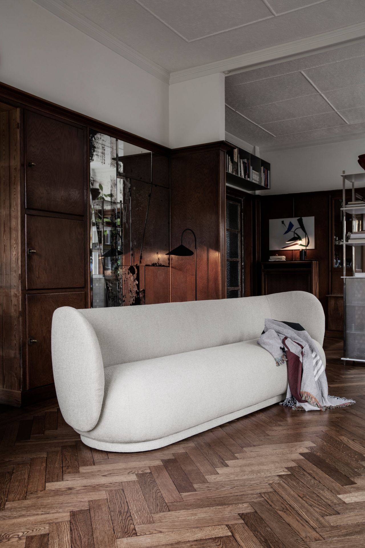 Rico Sofa Brushed 4-seater Ferm Living