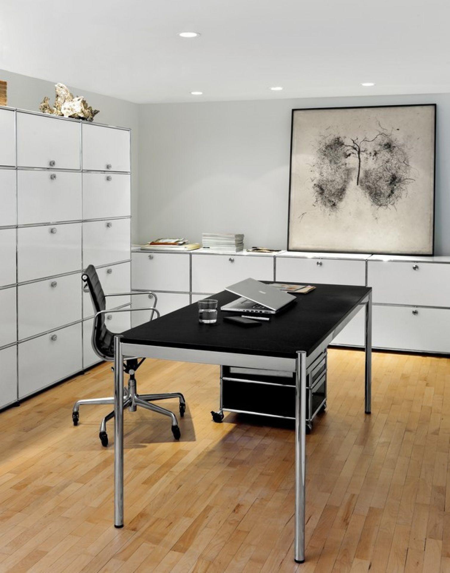USM Haller Table 175 x 75 cm pearl grey