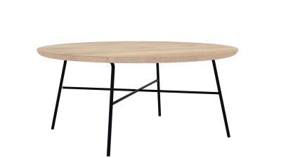 Disc Round coffee table oak Ethnicraft