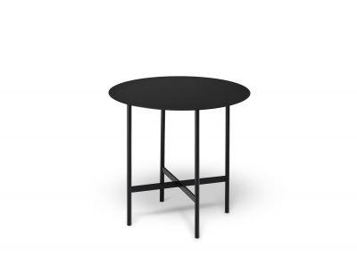 BETA coffee and side table small deep black Müller Möbelfabrikation