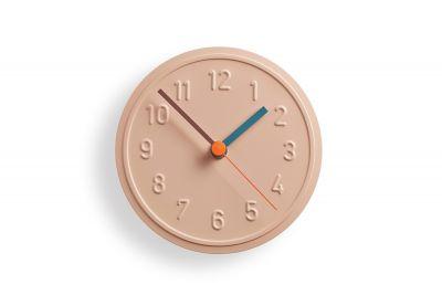 Alu Alu Wall Clock Peach Pastel Richard Lampert
