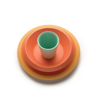 Giro Kids Collection Children's Tableware Orange Alessi