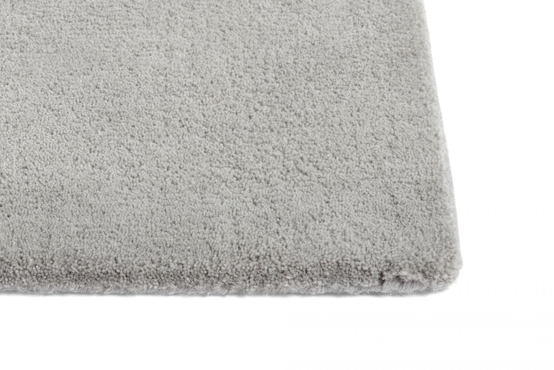 Raw Rug No 2 Carpet L 240 cm light grey Hay