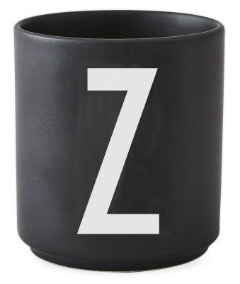Buchstabenbecher Schwarz Design Letters-Z
