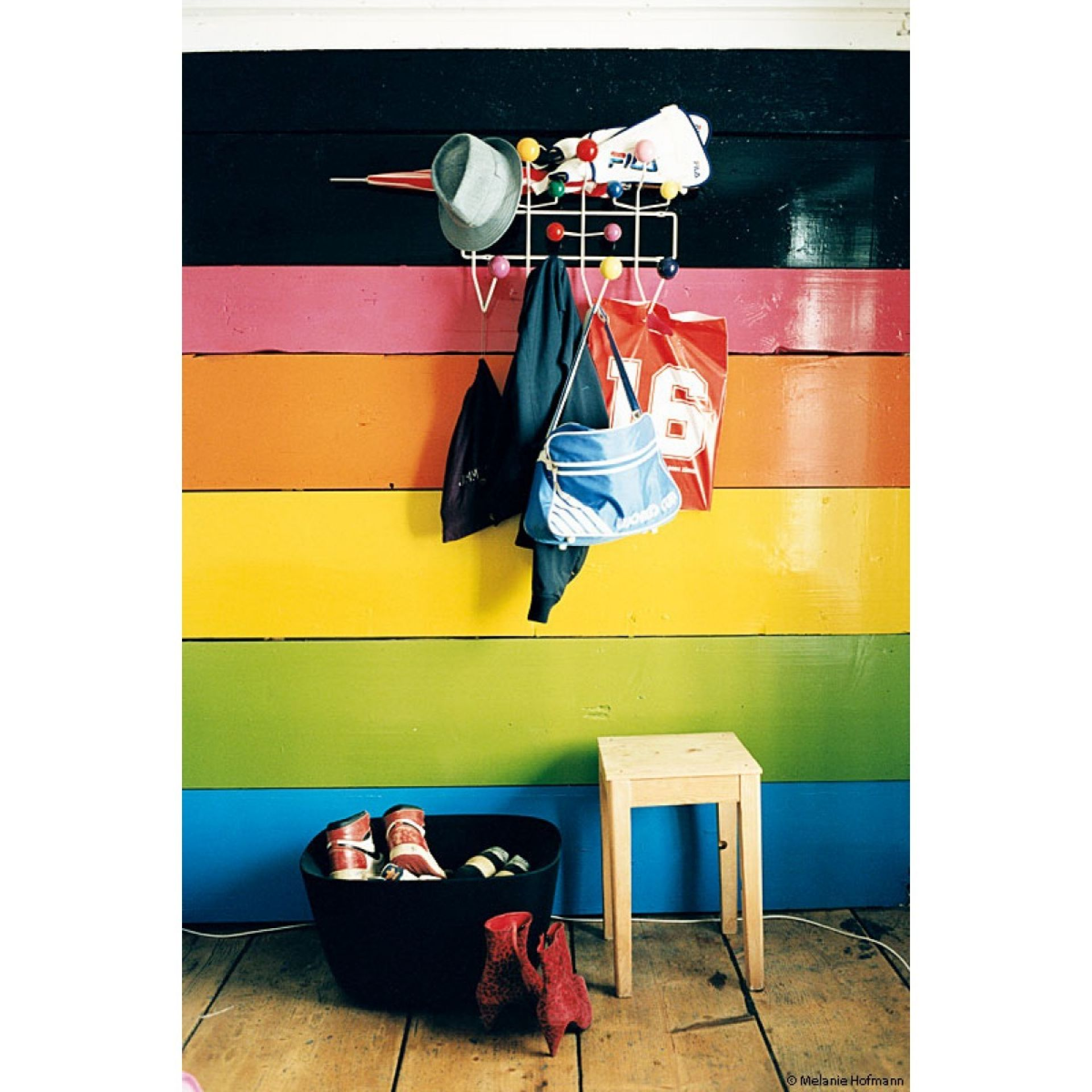 Hang it all colorful wardrobe Vitra Eames