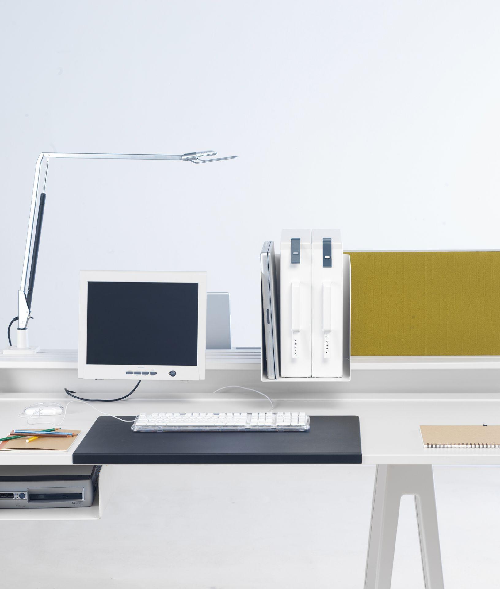 Joyn Desk pad Vitra Mauve grey