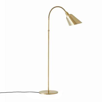 Bellevue AJ7 floor lamp brass & tradition Copenhagen