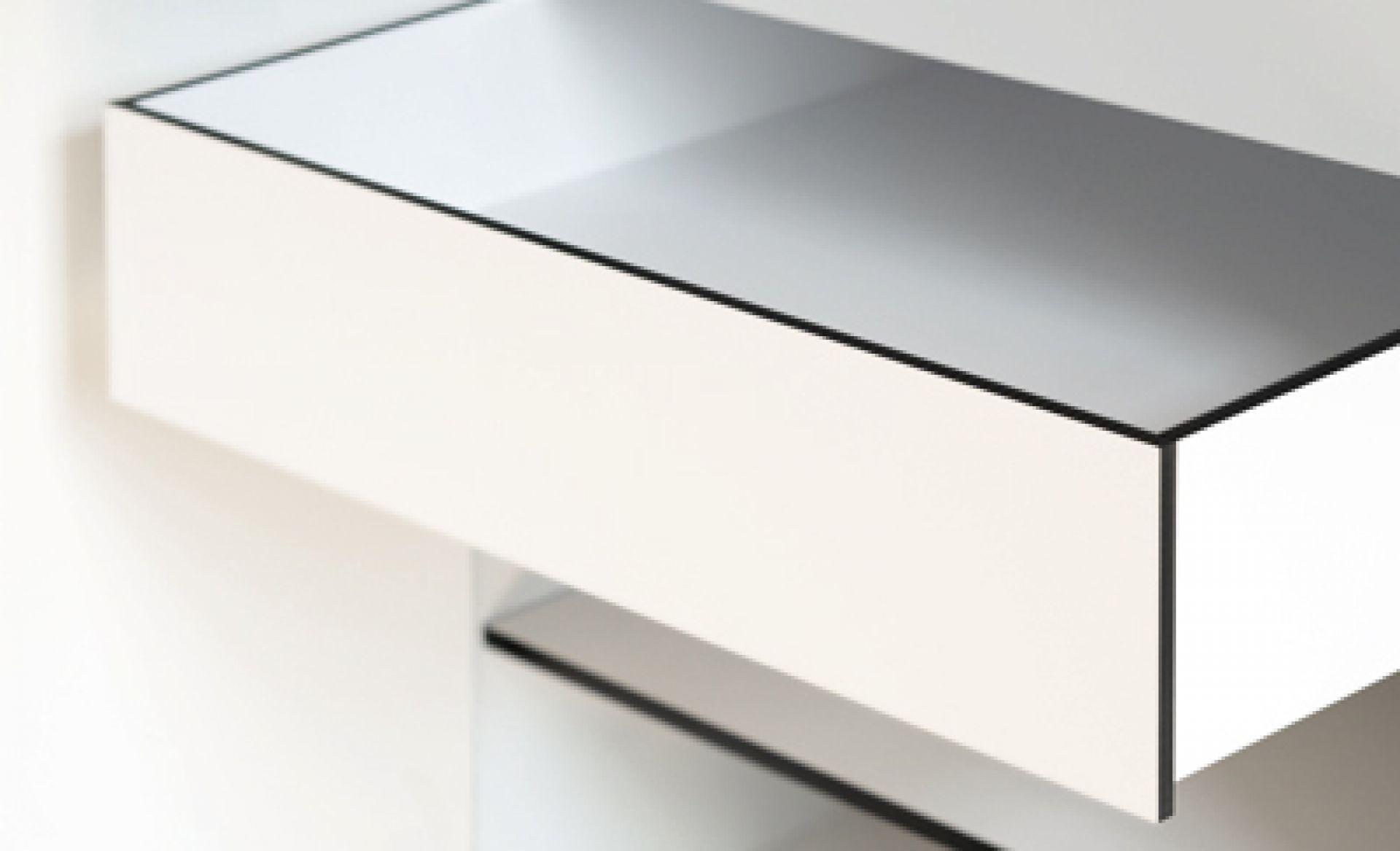 Inside drawer Miniki White