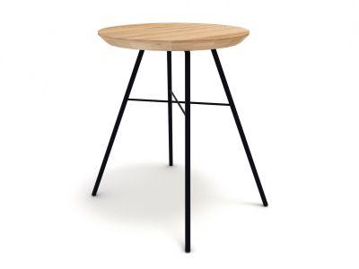 Disc stool oak Ethnicraft