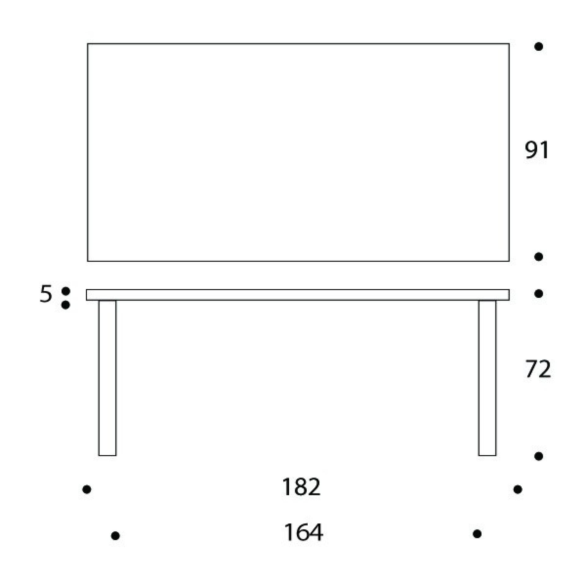 83 Table Artek