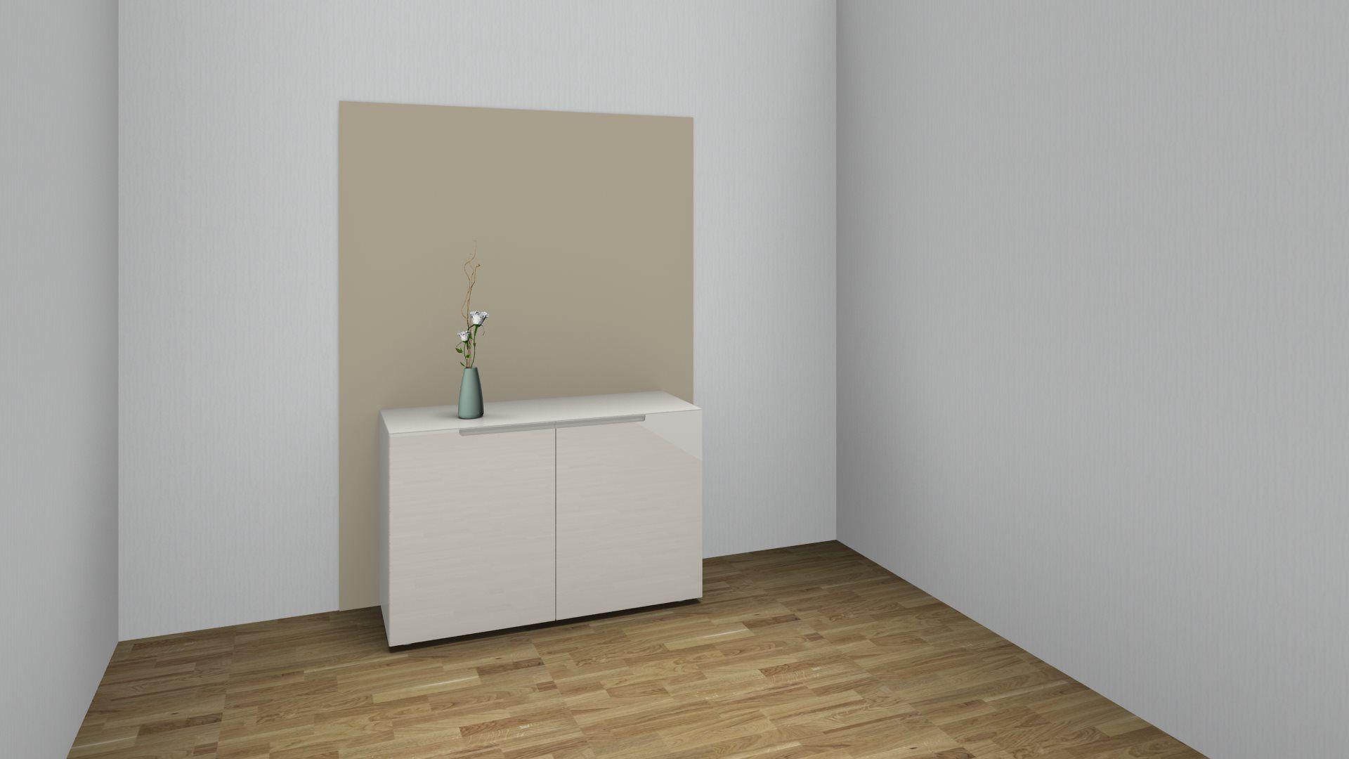 Mell Sideboard With 2 Doors W 120 Cm Interlubke Interluebke U6263