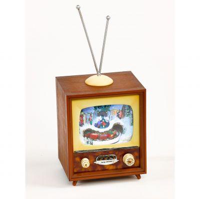 christmas decoration TV small 11cm Timstor