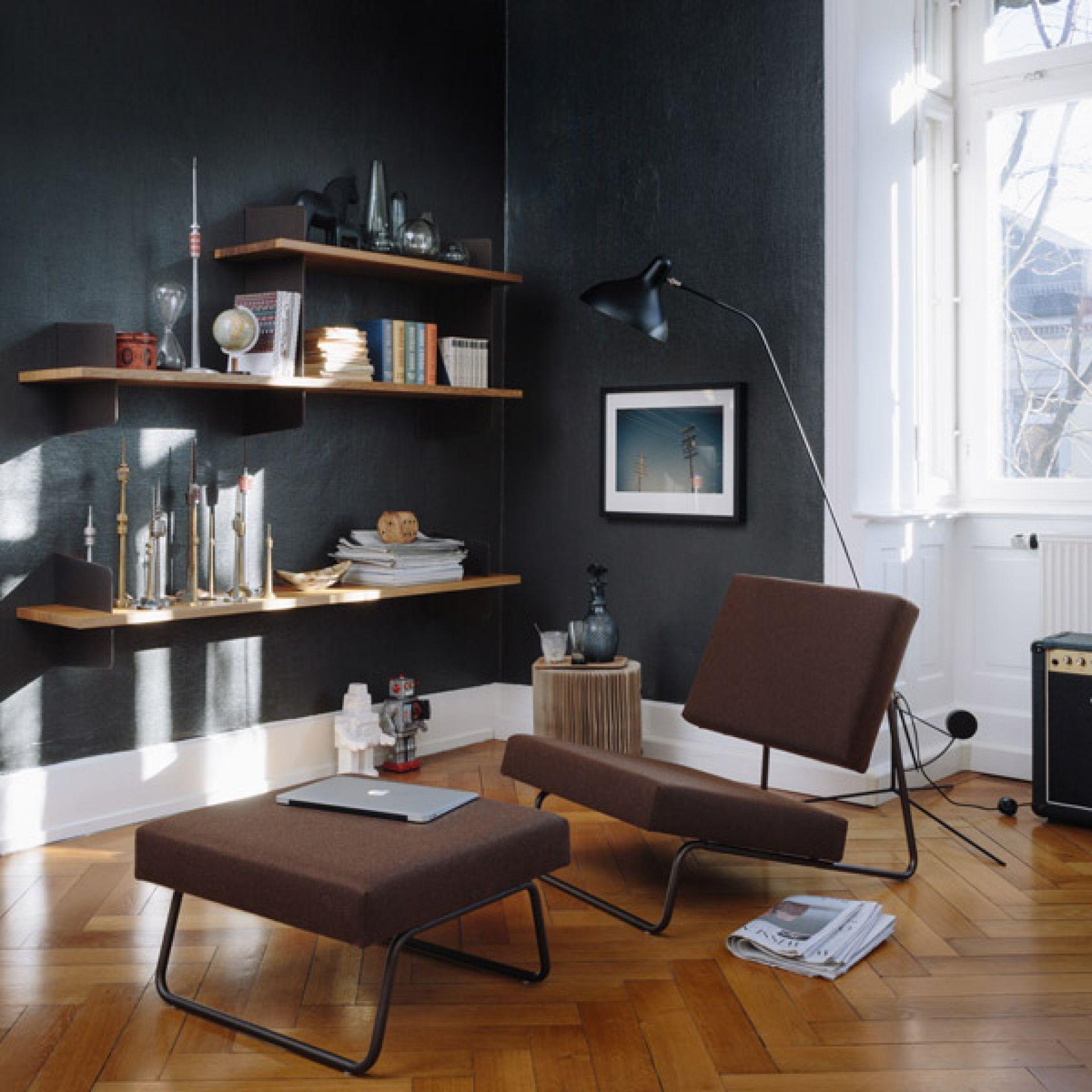 Atelier wall shelf melamine Richard Lampert