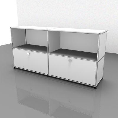 USM Haller sideboard with 2 folding doors – QUICK SHIP