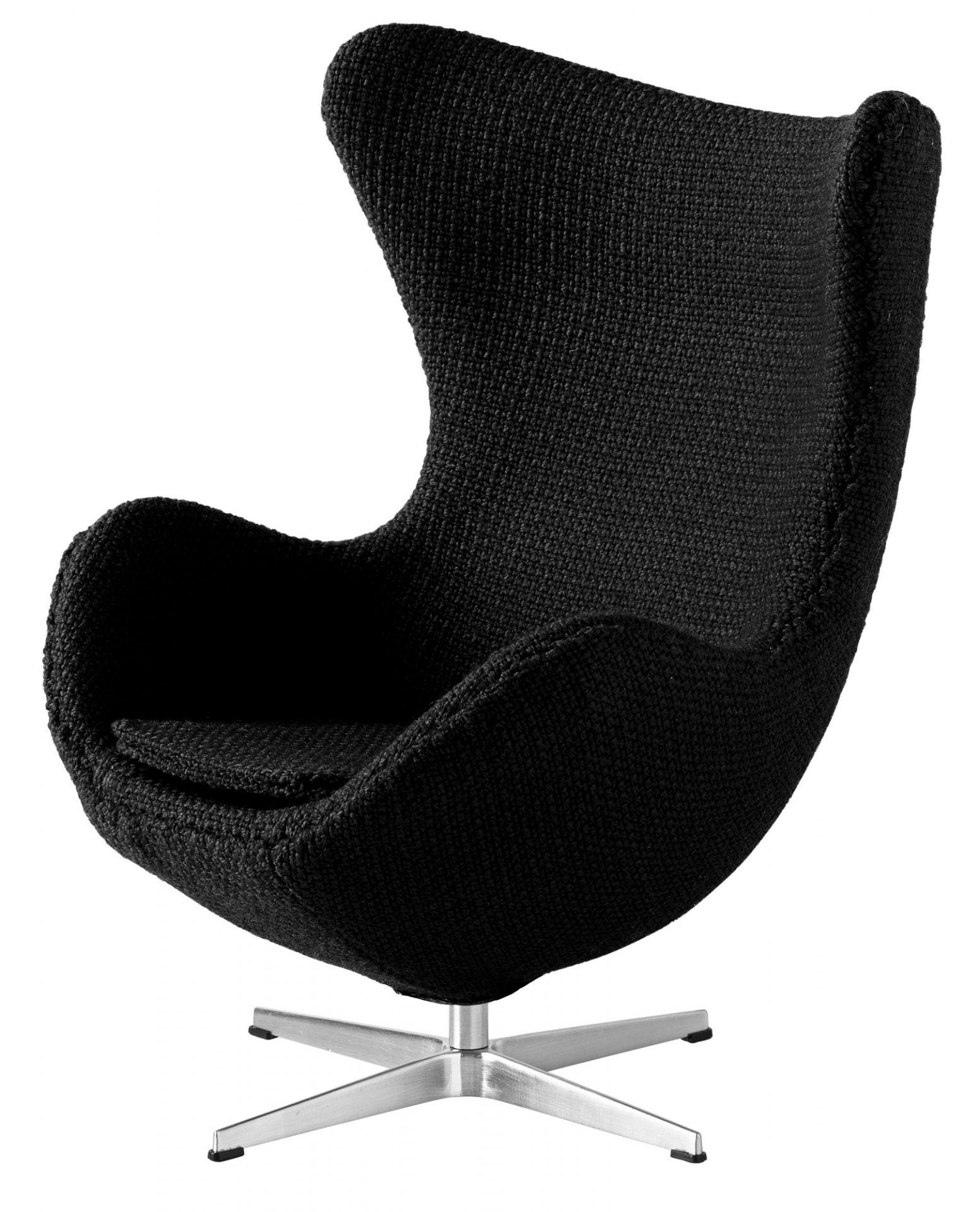Egg Chair Miniature Black Fritz Hansen