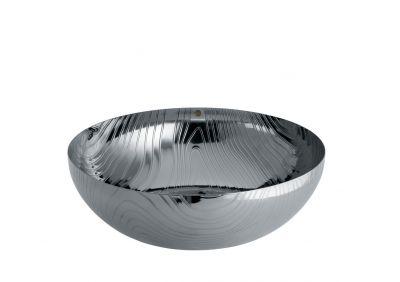 PU06 29 Veneer Bowl stainless steel 29 cm Alessi