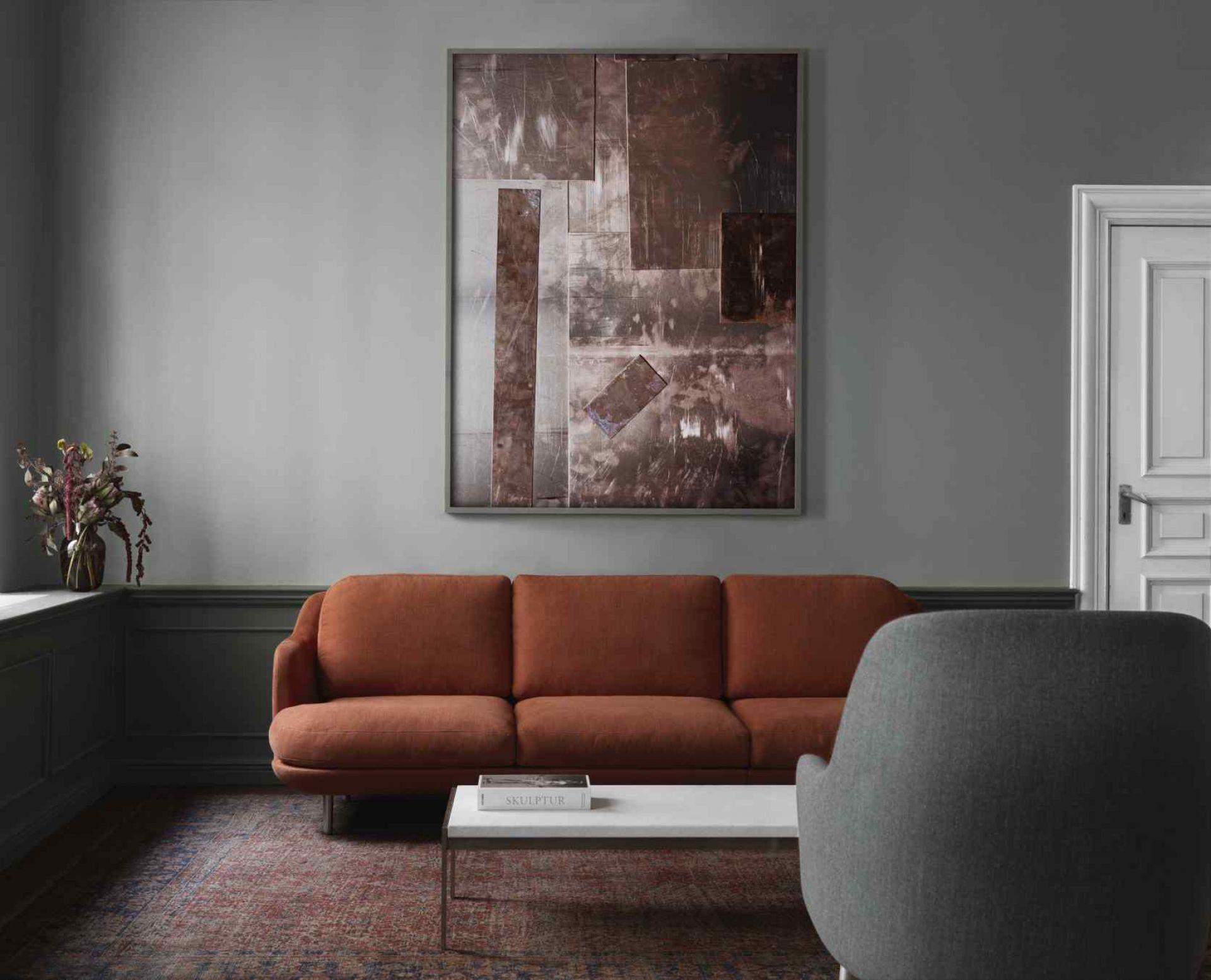 Lune 3- Seater Sofa Fritz Hansen