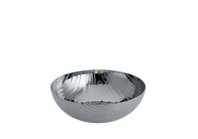 PU06 21 Veneer Bowl stainless steel 21 cm Alessi