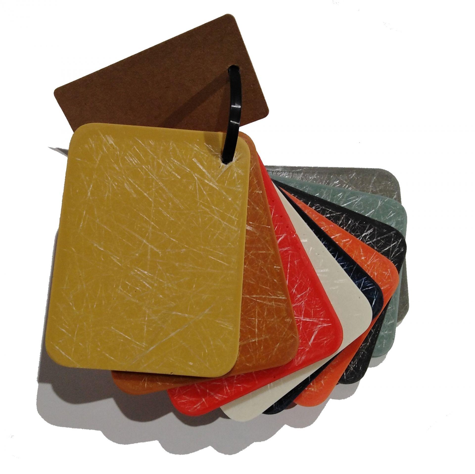 Plastic Sample for Eames Plastic Chairs Fiberglas Vitra