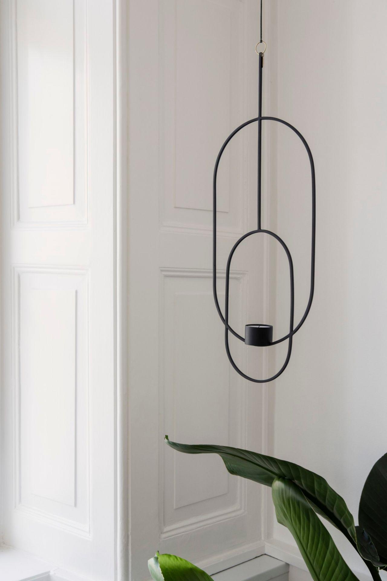 Hanging Tealight Deco oval Ferm Living