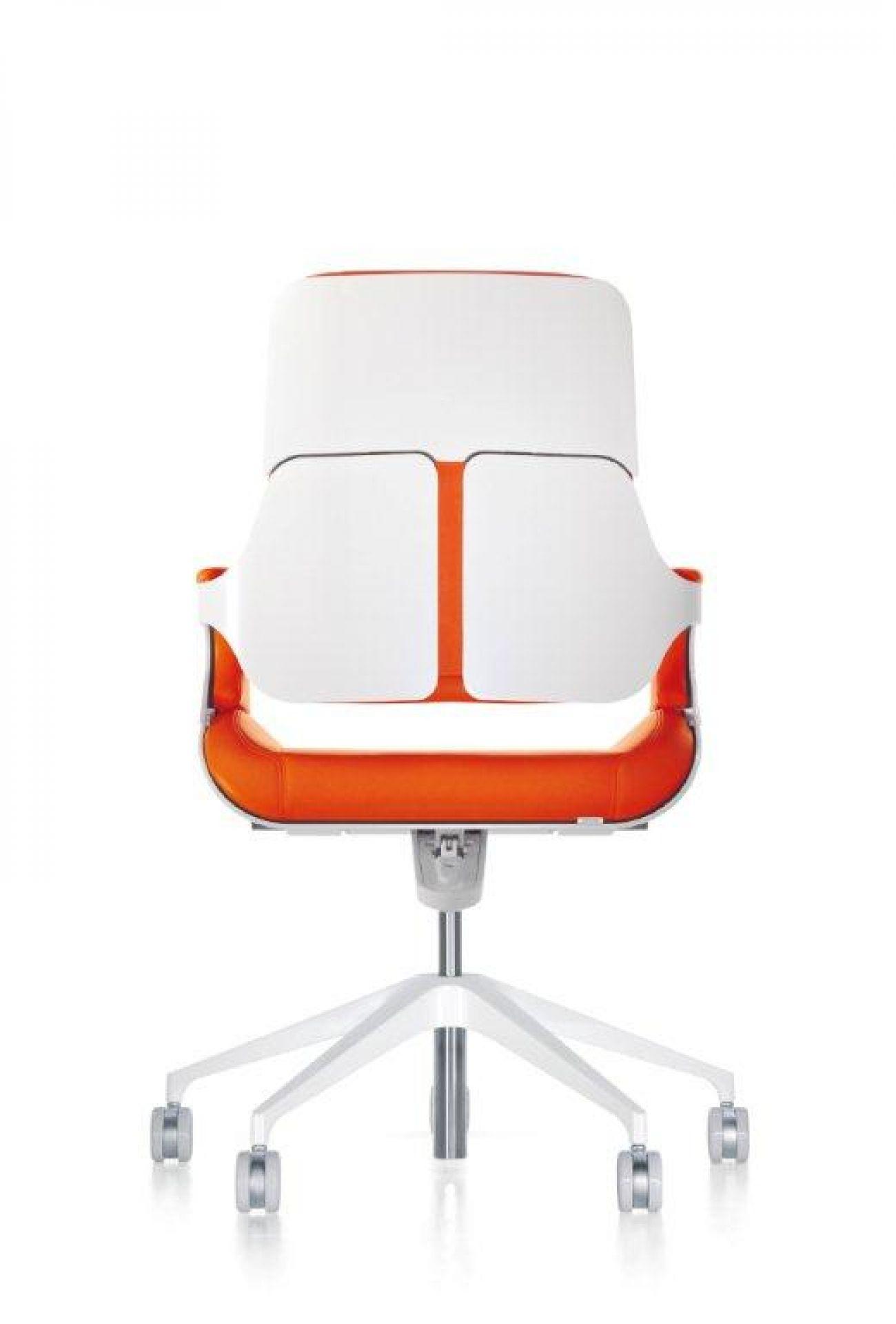 262 Silver Office Swivel Chair Interstuhl