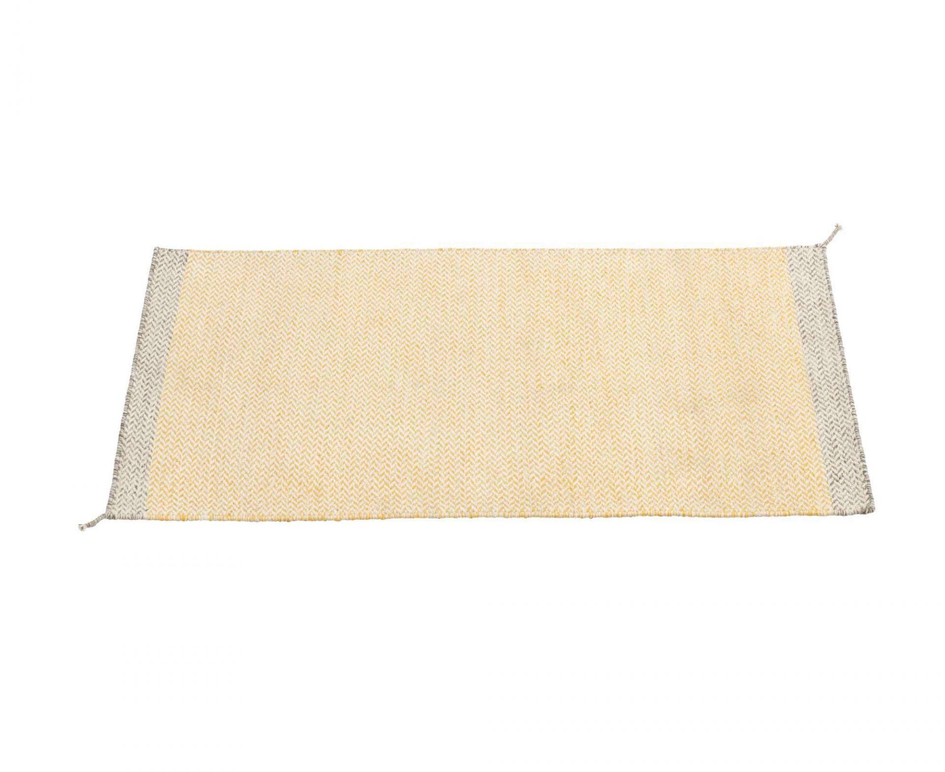 Ply Rug Teppich 85 x 140 cm Muuto-Gelb