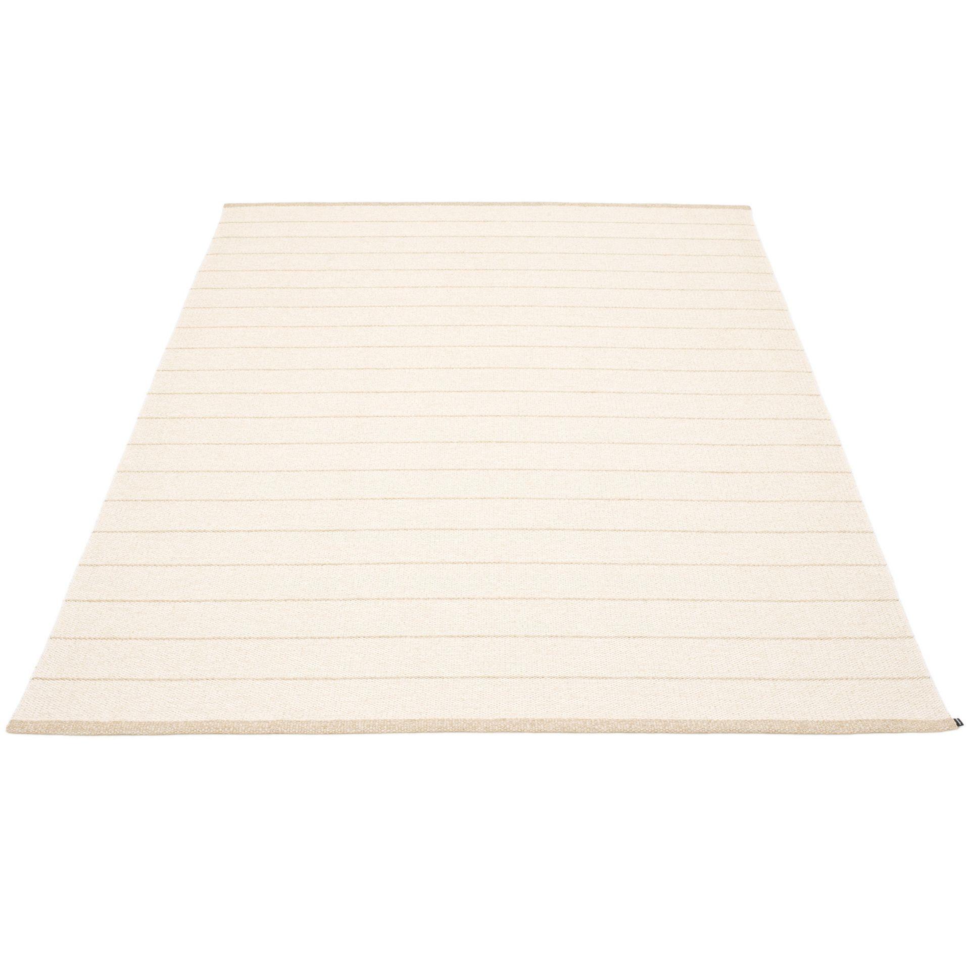 Carl Plastic Carpet 180x260 cm Pappelina Vanilla/ White