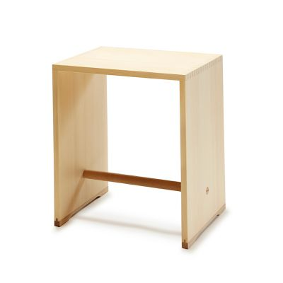 Ulmer Stool Max Bill wb form