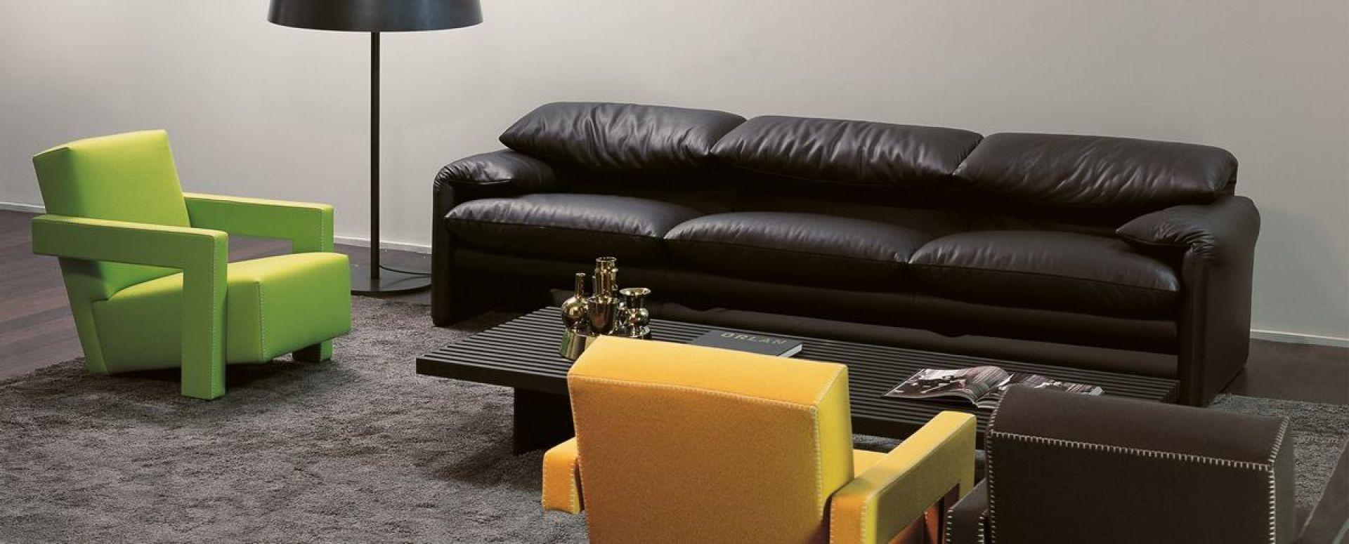 675 Maralunga sofa 3-seater Cassina