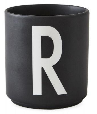 Buchstabenbecher Schwarz Design Letters-R