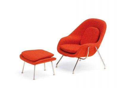 MINIATUR Womb Chair & Ottoman Vitra