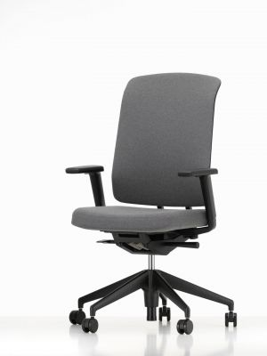 Am Chair Office Swivel chair with Fabric back Vitra